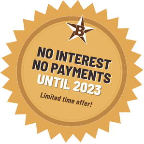 No interest no payments