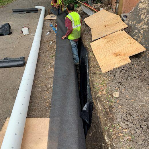 moisture barrier installation in dallas, tx